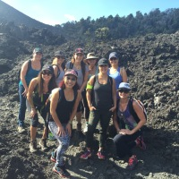 Wahine Hikers in Hawaii Volcanoes National Park