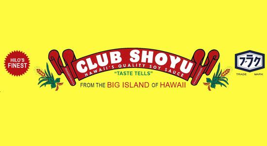 club shoyu label