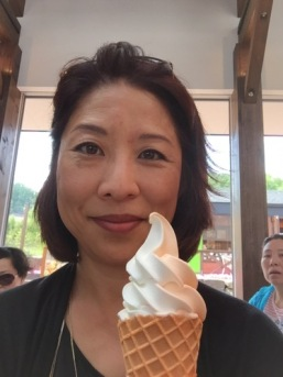 anne with ice cream