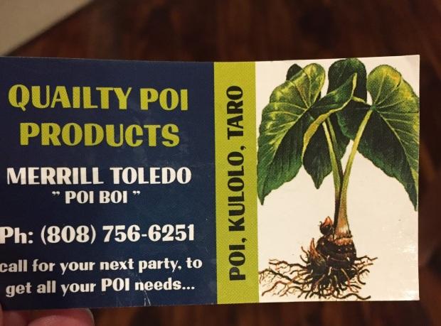 Poi Boi Poi Products