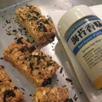 Only Easy: Misty's Energy Bars (with or without furikake)