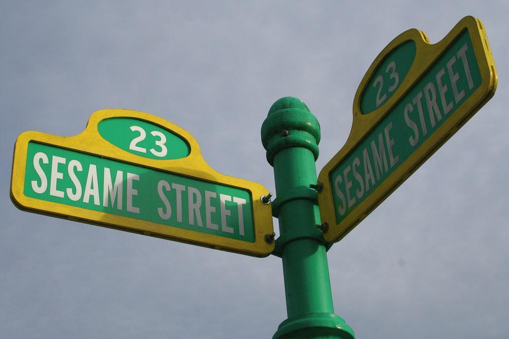 Sesame Street | Gavin St. Ours | Flickr