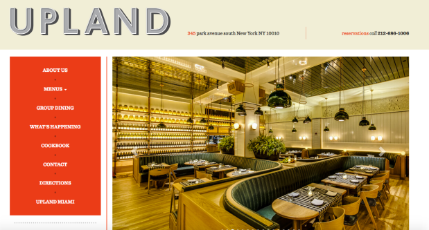 Upland web page