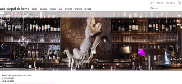 ABC Cocina web page