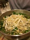 fresh veggies for pho