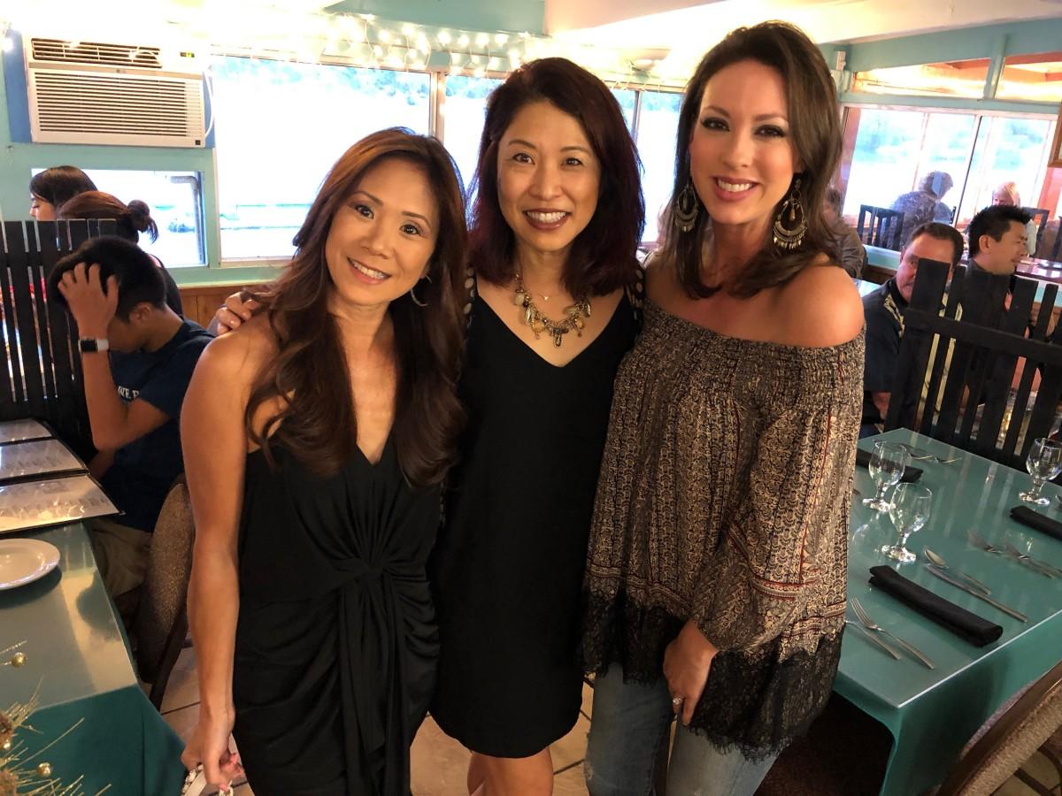 Finding Friends at Seaside Restaurant