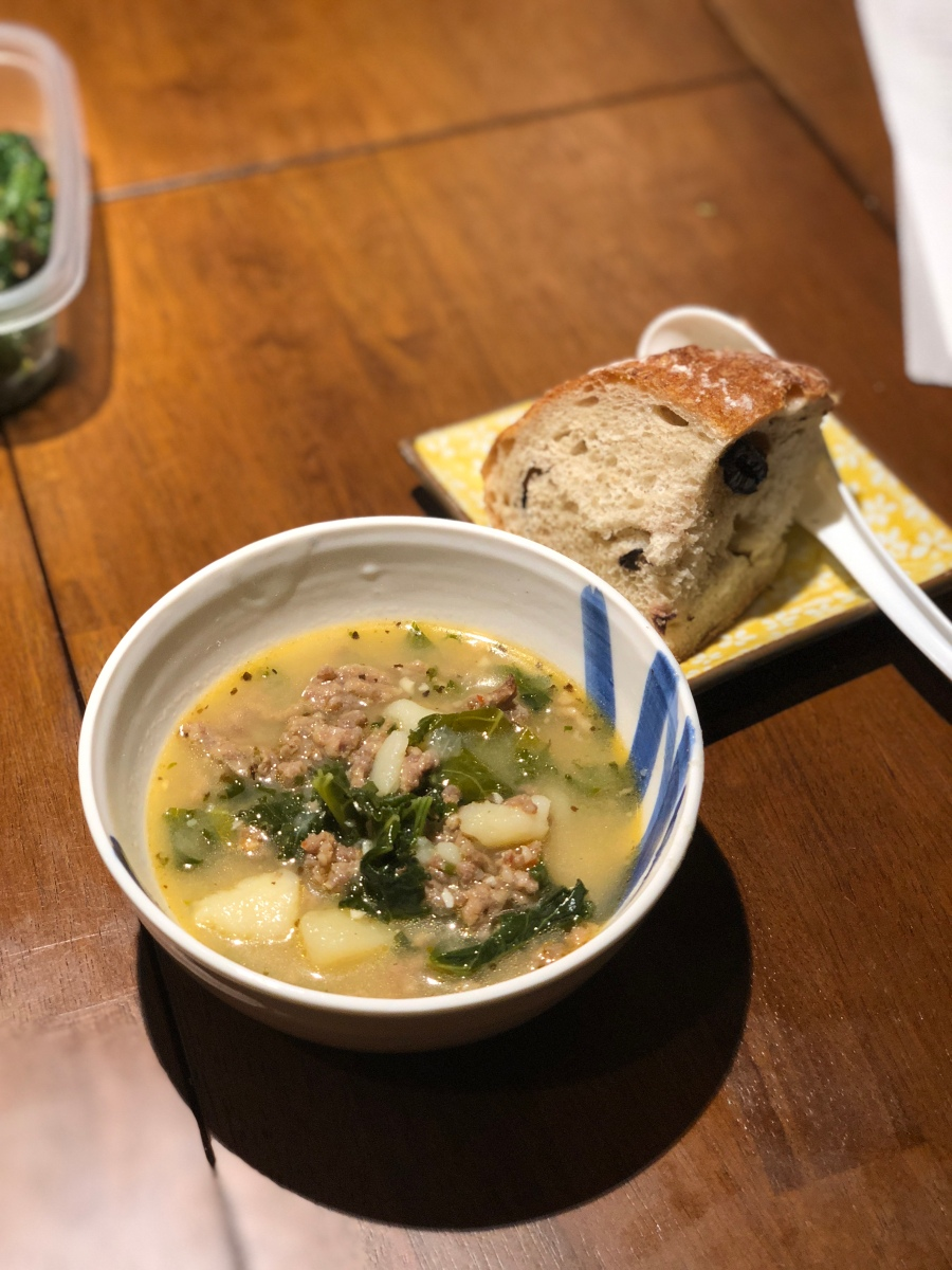 Instant Pot Experiments: Olive Garden Zuppa Toscana | Living Hilo Style