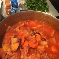 "Only Easy:  Misty's Portuguese Bean Soup and ""Futsedas"""