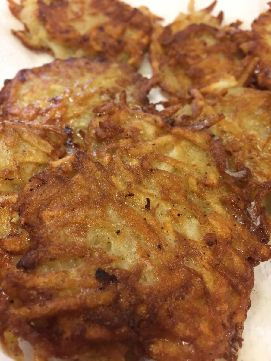 Only Easy: Latkes!