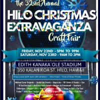 32nd Annual Hilo Christmas Extravaganza Craft Fair