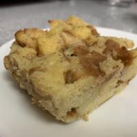 Only Easy: Hamburger Bun Bread Pudding