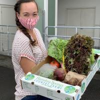 Only in Hilo: OK Farms CSA produce box!!!