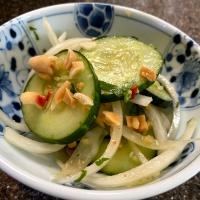 New Favorite Thai Cucumber Salad