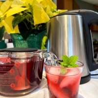 Pretty Hibiscus Tea